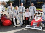 Stars from Formula Vee pose for a group photo - image: Volkswagen