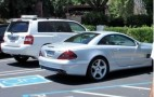 Steve Jobs Back to Parking Benz SL Illegally