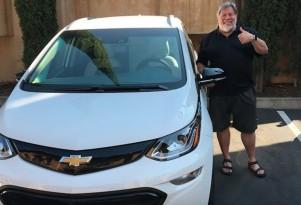Apple's Woz likes Chevy Bolt EV better than Tesla Model 3, he says