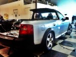 Steve Zink's Audi A6 Allroad pickup project. Photos by Steve Zink.