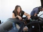 Steven Tyler takes delivery of his Hennessey Venom GT Spyder - image: HPE Design