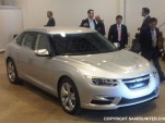 Stillborn Saab 9-3 based on the Phoenix platform - Image: SaabsUnited