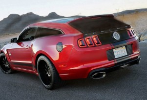 Strand Craft Shelby Mustang GT500-based shooting brake