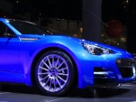 Subaru BRZ STI Concept live photos