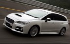 Subaru Levorg wagon concept hits the track
