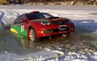 When Ice Racing Goes Wrong: Subarus Don't Float
