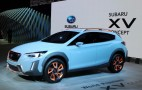 Subaru's new XV concept hints at next-gen Crosstrek: Live photos and video