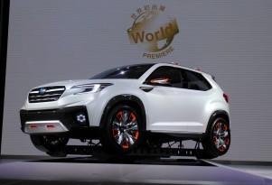 Subaru Viziv Future Concept Previews Next-Generation Hybrid System