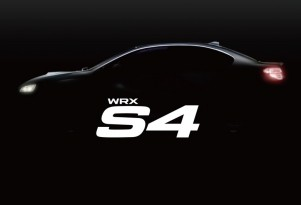 Subaru WRX S4 teaser image