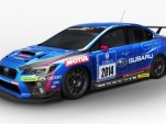 Subaru WRX STI race car for the 2014 Nürburgring 24 Hours