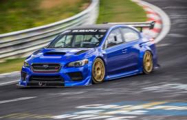 Subaru WRX STI Type RA NBR Nurburgring record run