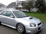 Subaru WRX STI With Duck Call Blow-Off Valve