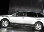 Subaru Gives 2010 Outback World Premiere At NYC Show