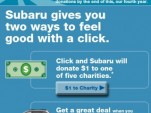 Subaru's 2011 'Share the Love' event