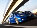 Subaru's Japan-only Impreza WRX STI S206.