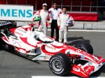 Super Aguri Honda F1 race car