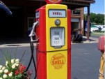Super Shell Gas Pump