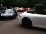 Supercar parade at 2012 Goodwood Festival of Speed