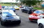 Awesomely Ridiculous Supercar Traffic Jam: Video