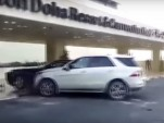 SUV crashes into Rolls-Royce Ghost