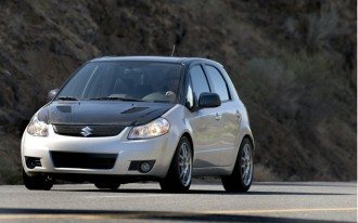 Driven: Suzuki SX4t Turbo