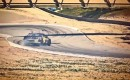 Tanner Foust drifts at Laguna Seca