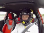 Tanner Foust lapping the 2014 Ford Fiesta ST at the Nurburgring