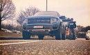 Tanner Foust takes the Ford F-150 SVT Raptor to the Nordschleife