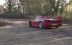 Watch A Ferrari F50 Drift In Slow Motion: Video