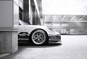 Teaser for 2013 Porsche 911 GT3 Cup race car