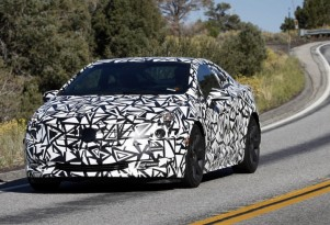 Camouflaged 2014 Cadillac ELR Teaser Photo Released By GM