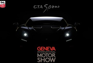 Teaser for 2015 GTA Spano debuting at 2015 Geneva Motor Show