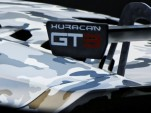 Teaser for 2015 Lamborghini Huracán GT3 race car