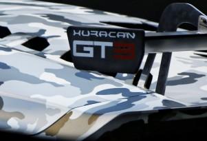 Teaser for 2015 Lamborghini Huracán GT3 race car