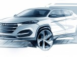 Teaser for 2016 Hyundai Tucson