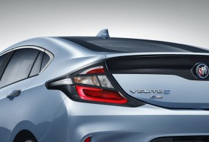 Teaser for 2017 Buick Velite 5 debuting at 2017 Shanghai auto show