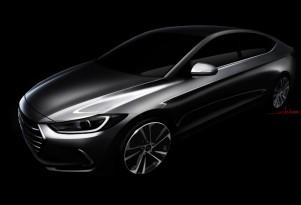 Teaser for 2017 Hyundai Elantra Sedan