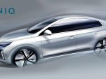 Teaser for 2017 Hyundai Ioniq debuting at 2016 Geneva Motor Show
