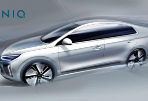 More 2017 Hyundai Ioniq Sketches Before Hybrid, Electric Cars Debut