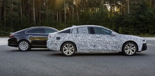 Teaser for 2017 Opel Insignia Grand Sport