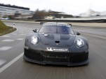 Teaser for 2017 Porsche 911 RSR race car