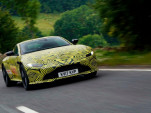 Teaser for 2018 Aston Martin Vantage