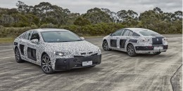 Teaser for 2018 Holden Commodore