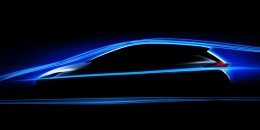 Next 2018 Nissan Leaf teaser sketch; electric car debuts Sept. 5