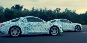 Teaser for Alpine sports car debuting in 2017