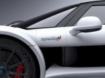 Teaser for Apollo N debuting at 2016 Geneva Motor Show