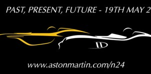 Teaser for Aston Martin CC100 centenary concept