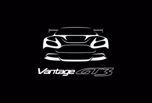 Teaser for Aston Martin Vantage GT3