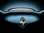 Teaser for Borgward concept car debuting at 2017 Frankfurt auto show