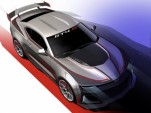 Teaser for Chevrolet Camaro GT4.R race car